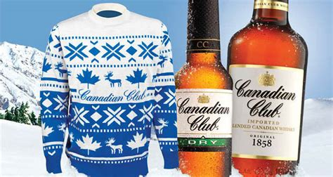 bad sweater canadian club and the return of bad sweater day drinks world