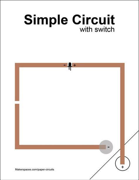 circuit card template paper circuits for makerspaces makerspaces