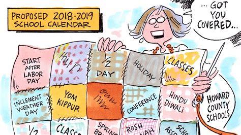 Columbia Schools Calendar A Sensible School Calendar For Howard County Editorial