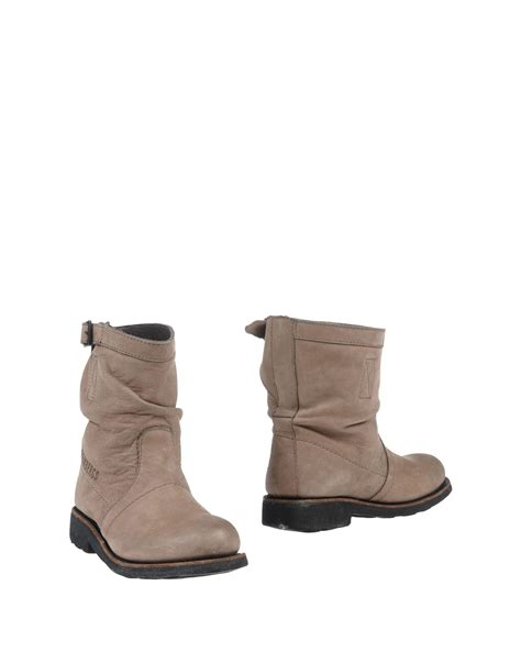 Bikkembergs Ankle Boots lyst bikkembergs ankle boots in gray