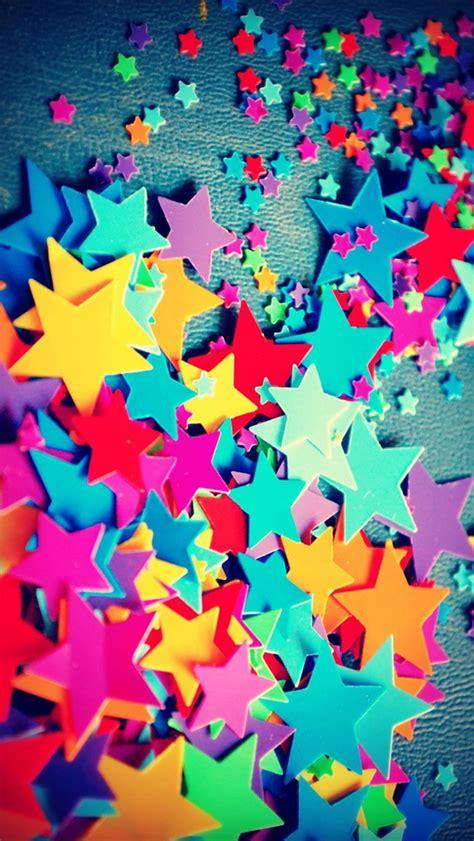 imagenes para fondo de pantalla iphone 5 muchas coloridas estrellas de cinco puntas iphone fondos