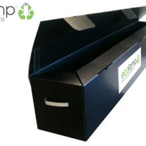 fluorescent l recycling boxes heavy duty l storage container fluorescent l