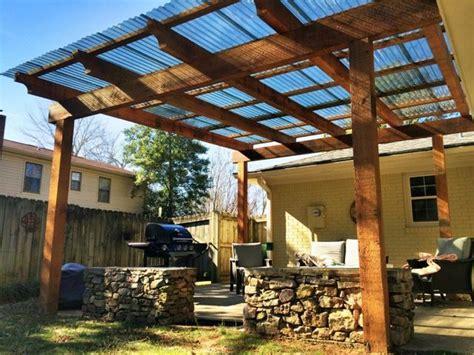 cedar pergola polycarbonate roof panels pergola party