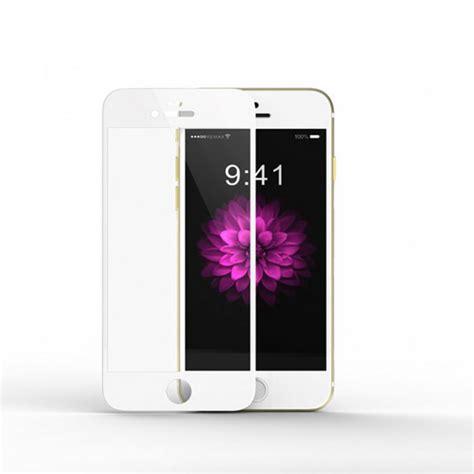 vitre protectrice avant en verre tremp 233 blanche pour iphone 7