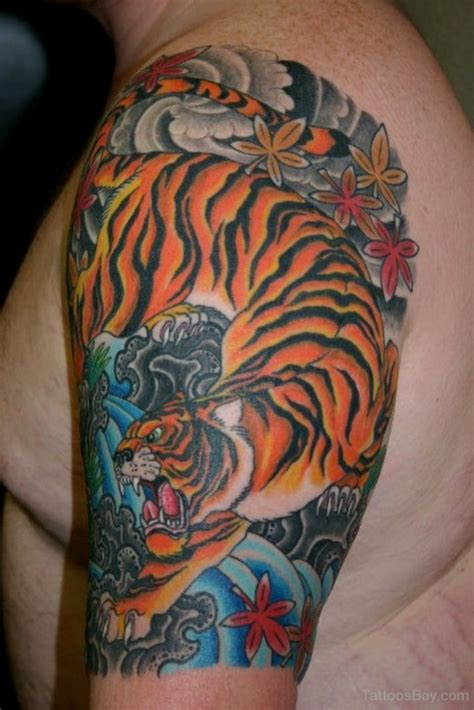 tiger sleeve tattoo tattoo collections tiger tattoos designs pictures page 8