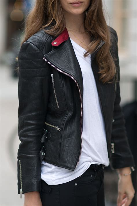 leather jacket stunning leather jackets spotted in 2014 just the