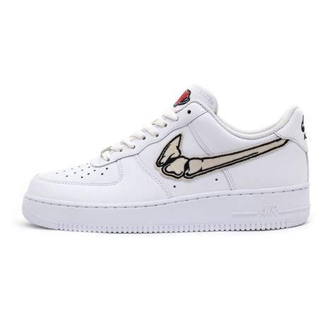 sneakers custom fatal air 1 bone white low custom sneakers