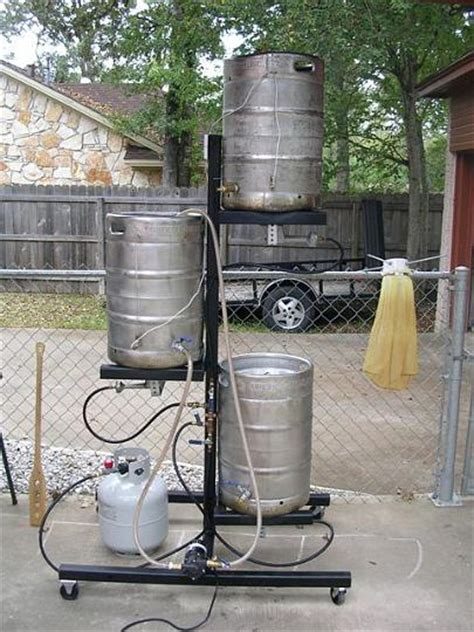 3 tier gravity brew stand home brew forums brewing
