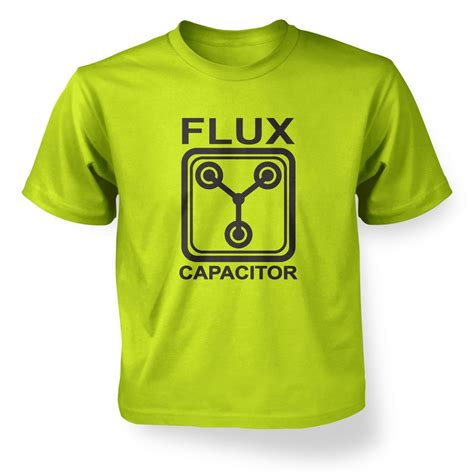 flux capacitor light up t shirt flux capacitor t shirt somethinggeeky