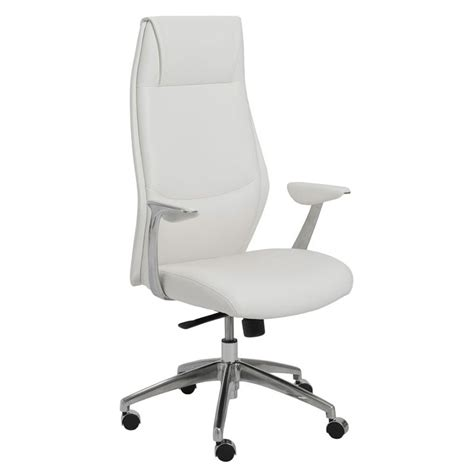 Modern White Desk Chair White Modern Office Chairs Richfielduniversity Us