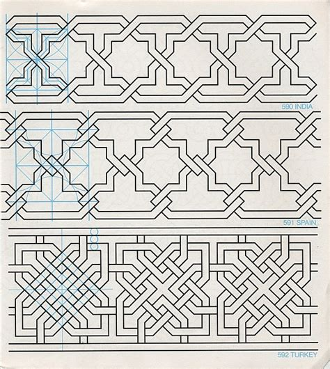 pattern in islamic art pdf gpb 071 geometric patterns borders david wade
