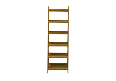 Bookcase Ladder Narrow Suntan Se Waite And Son Narrow Ladder Bookcase