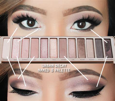 eyeshadow tutorial urban decay 3 leslie loves makeup urban decay naked 3 smokey look