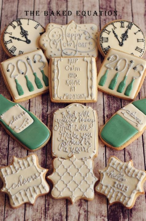 new year cookies decoration 75 best new years decorated cookies and cake pops images