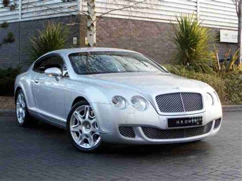 bentley silver bentley 2009 continental gt petrol silver automatic car