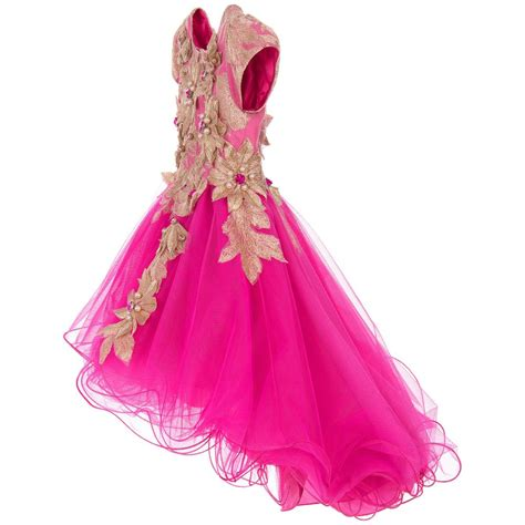 pink and gold l lesy girls pink gold tulle dress childrensalon