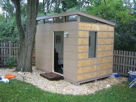 Modern Outdoor Storage Shed 25 Best Ideas About Pre Built Sheds On