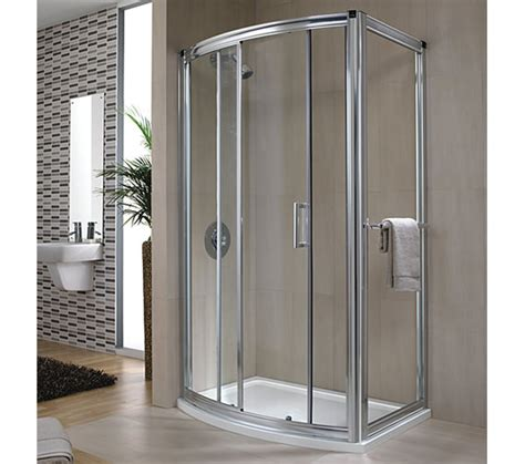 Twyford Shower Doors Twyford Hydr8 Bow Sliding Shower Enclosure Door 1200mm H88501cp