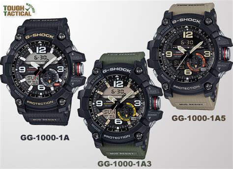 G Shock Gg 1100 Black the new g shock gg 1000 mudmaster powered up with