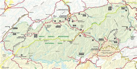 gsmnp trail map the laughing hiking the at thru the smokies the