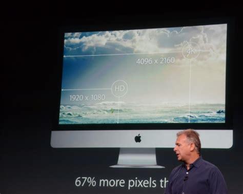 Terbaru Mini Retina Display apple meluncurkan imac terbaru dengan layar resolusi 5k dan memakai radeon r9 grapich