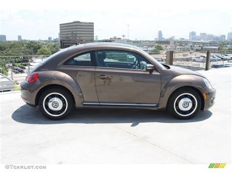 volkswagen brown 2013 toffee brown metallic volkswagen beetle 2 5l
