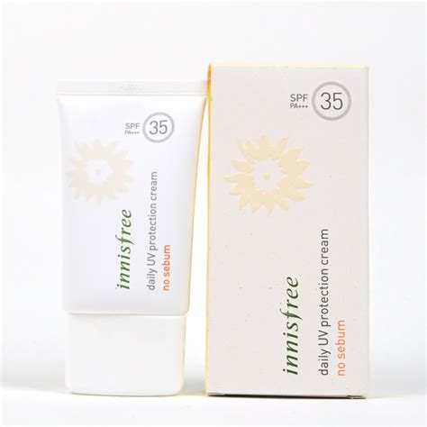 Harga Innisfree Daily Uv Protection No Sebum innisfree daily uv protection no sebum review