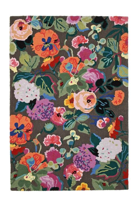 anthro rugs gloria s garden rug anthropologie pattern print