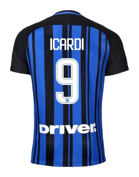 Jersey Inter Milan Home 17 18 Go Inter Milan 17 18 Home Kit Released Footy Headlines