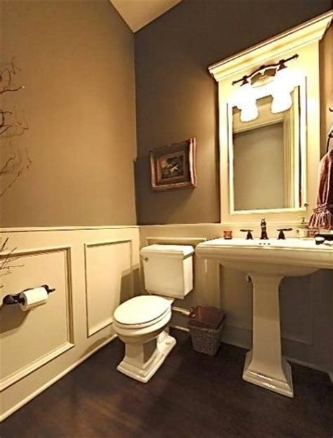 bathroom trim ideas half bath powder room ideas i really like the paint color molding could use beaded board