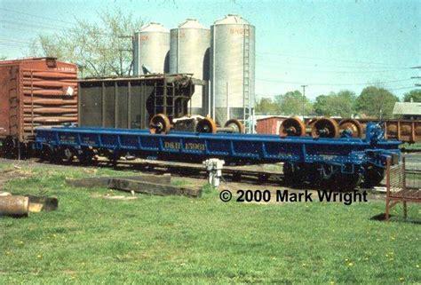 railroad net view topic d h blue flatcar wheel car