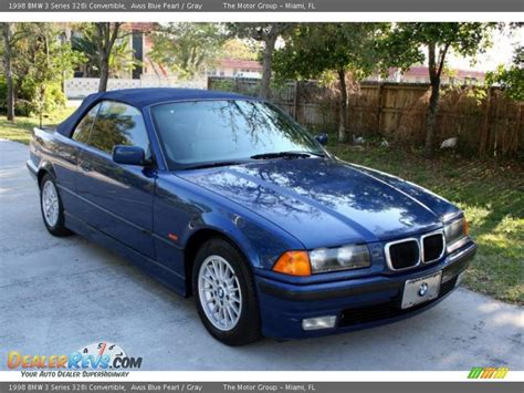 Bmw 328i 1998 by 1998 Bmw 3 Series 328i Convertible Avus Blue Pearl Gray