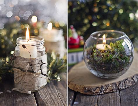 natural christmas decorations adorable home