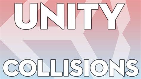 unity tutorial learn unity tutorials beginner 01 basic collisions