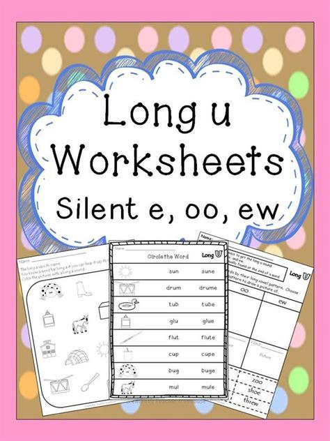 ew pattern words long u worksheets silent e oo ew silent e spelling