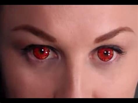 review: vassen lollipop red contact lenses youtube