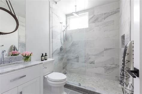 Brown Shower Floor Tiles Design Ideas