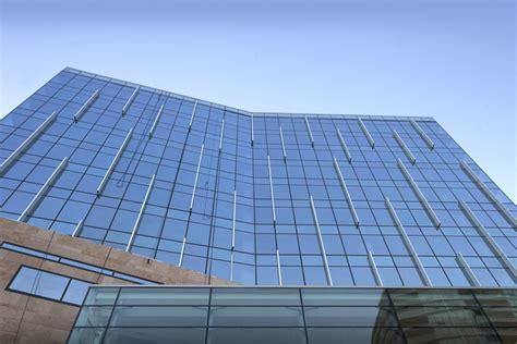 glass fin curtain wall anvil centre becomes gateway to new westminster s downtown