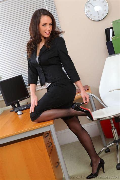 Zhoey Black High black skirt suit sheer black and black high