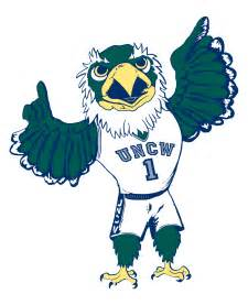 uncw colors sammy seahawk logo licensing trademarks uncw