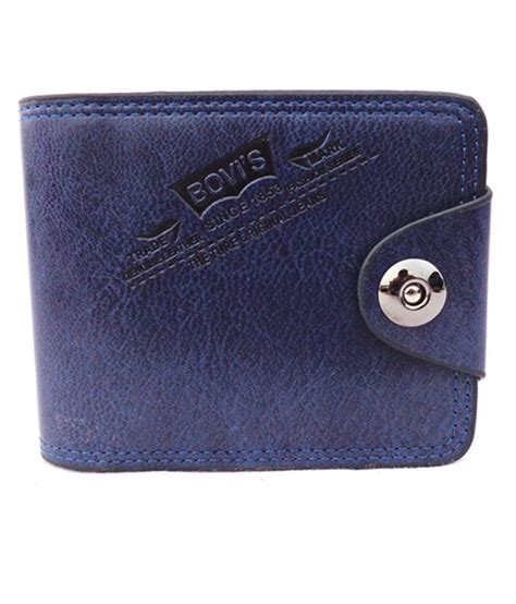 New Handbag Bovis Wx228 7 buy bovis blue regular wallet at best prices in india