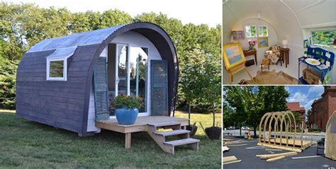 Backyard Quonset Hut Efab Tiny House Home Design Garden Architecture