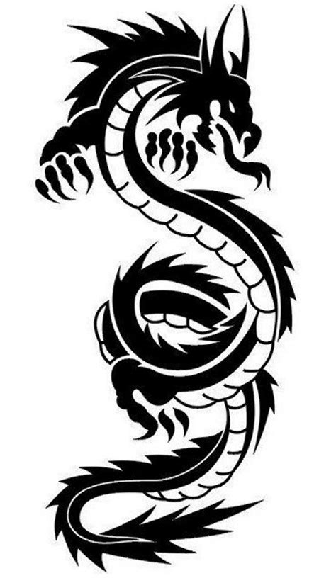 awesome tribal dragon tattoo designs