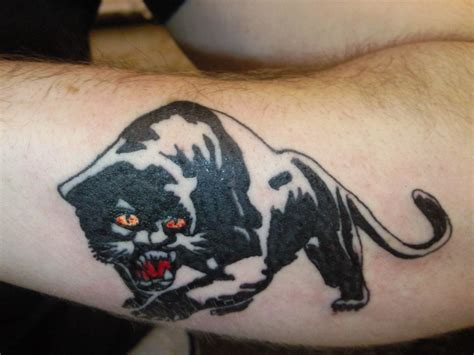 panther tattoo designs the sing of power panther tattoo
