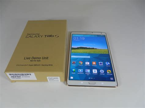 Tablet Samsung S 8 4 samsung galaxy tab s 8 4 unboxing amoled