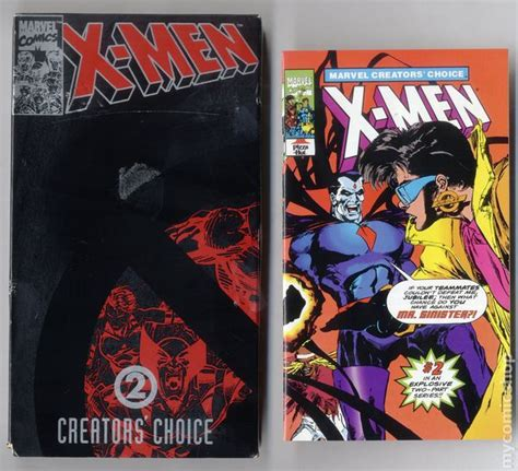 comics for choice books creator s choice vhs and mini comic 1993 marvel