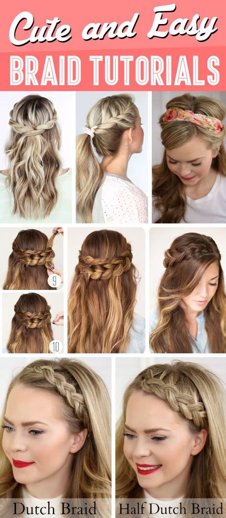 quick and easy braid styles quick and easy braided hairstyles