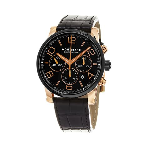 Montblanc Chonograph 1 montblanc timewalker chronograph automatic 104668 montblanc touch of modern