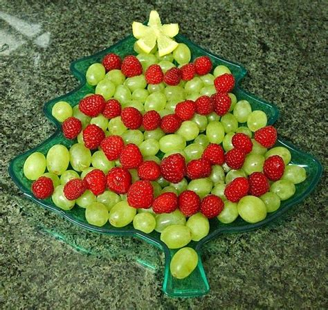 fruits for christmas party tree fruit tray appetizer ideas cool stuff