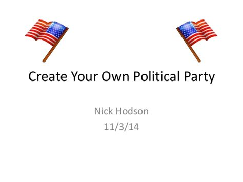 recent n design your own create your own political